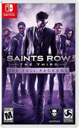 SWITCH. SAINTS ROW: THE THIRD: THE FULL PACKAGE. NOVO.