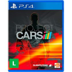 PS4. PROJECT CARS 1. NOVO.