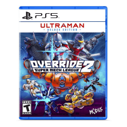 PS5. ULTRAMAN DELUXE EDITION. OVERRIDE 2. NOVO.