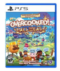 PS5. OVERCOOKED ! ALL YOU CAN EAT. NOVO.