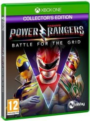 XBOX ONE. POWER RANGERS. BATTLE OF THE GRID COLLECTORS. NOVO.