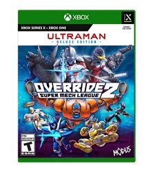 XBOX ONE. ULTRAMAN DELUXE EDITION. OVERRIDE 2. SUPER MECH LEAGUE .NOVO.