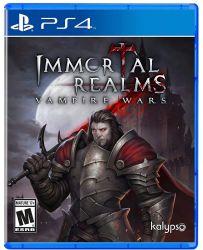PS4. IMMORTAL REALMS: VAMPIRE WARS. NOVO.