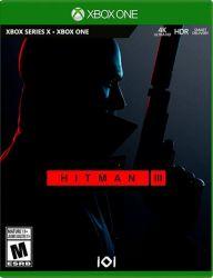 XBOX ONE. HITMAN III 3. NOVO.