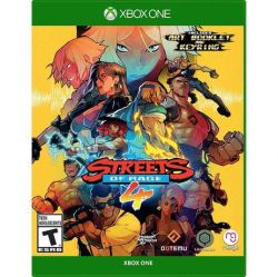 XBOX ONE. STREETS  OF RAGE 4.  NOVO.