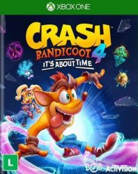 XBOX ONE. CRASH BANDICOOT 4. ITS ABOUT TIME. NOVO.