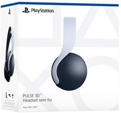 PS5. HEADSET 3D PULSE. ORIGINAL SONY. NOVO.