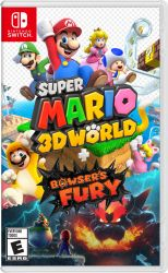 SWITCH. SUPER MARIO 3D WORLDS + BOWSERS FURY. NOVO.
