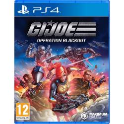 PS4. G. I. JOE OPERATION BLACKOUT.  NOVO.