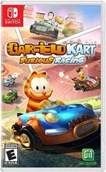 SWITCH. GARFIELD KART. NOVO.