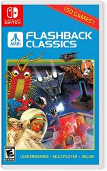 SWITCH. ATARI FLASHBACK CLASSICS. NOVO.