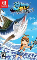 SWITCH. FISHING STAR WORLD TOUR. NOVO.