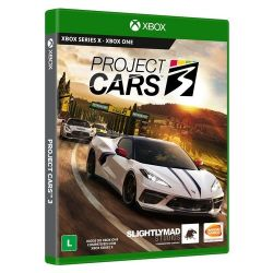 XBOX ONE. PROJECT CARS 3. LEGENDADO EM PORTUGUÊS. NOVO.