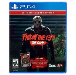 PS4. FRIDAY THE 13TH. THE GAME. ULTIMATE SLASHER EDITION. SEXTA FEIRA 13. NOVO.
