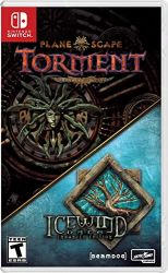 SWITCH. PLANESCAPE TORMENT & ICEWIND DALE :ENHANCED EDITION NOVO.