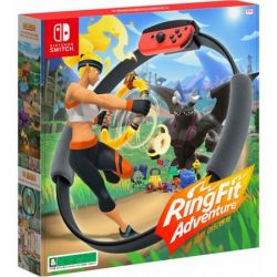 SWITCH. RING FIT ADVENTURES. NOVO.