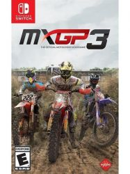 SWITCH. MXGP 3: THE OFFICIAL MOTOCROSS VIDEOGAME. NOVO.