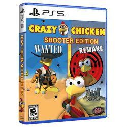 PS5. CRAZY CHICKEN  SHOOTER EDITION. NOVO.