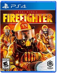 PS4. REAL HEROES FIREFIGHTER. NOVO.