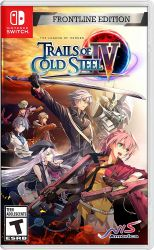 SWITCH. THE LEGEND OF HEROES: TRAILS OF COLD STEEL IV. 4. FRONTLINE EDITION. NOVO