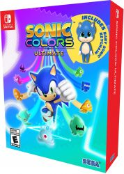 SWITCH. SONIC COLORS ULTIMATE. NOVO.