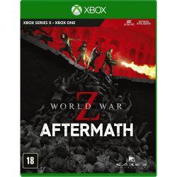 XBOX ONE. WORLD WAR Z. AFTERMATH . LEGENDADO EM PORTUGUÊS. LANÇAMENTO: 30/09
