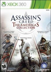 XBOX 360. ASSASSINS CREED 3 + 4 + LIBERATION.  EM PORTUGUÊS. AMERICAS COLLECTION. 3 GAMES. NOVO.